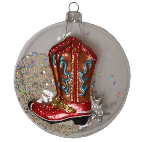 cowboy boot christmas ornaments