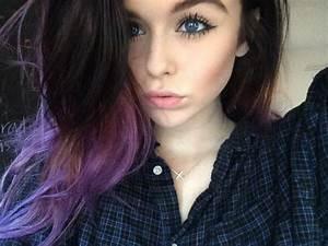 love her purple hair | acacia brinley | beauties ...
