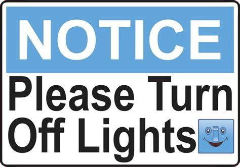 shut the lights off please turn off the lights sign www pixshark com