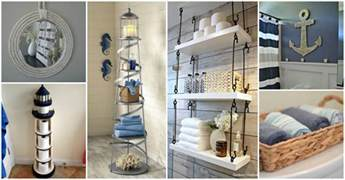 seashell bathroom decor ideas nautical bathroom decor that will impress you
