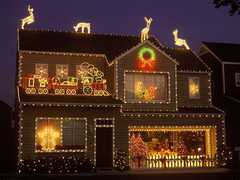 Outside Lighted Christmas Decorations