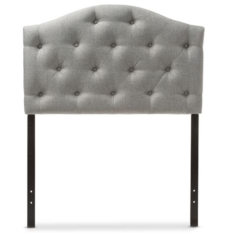Baxton Studio Myra Modern And Contemporary Grey Fabric