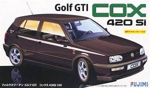 Fujimi Rs 24 Model Car Kit Vw Volkswagen Golf Mk3 Gti