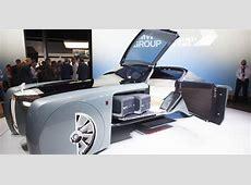RollsRoyce Unveils Driverless Vision Next 100 Concept Car