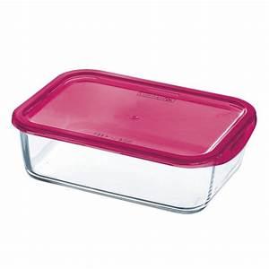 Boite Hermetique Verre : bo te herm tique rose en verre keep 39 n 39 box vendu par 3 la table d 39 arc ~ Teatrodelosmanantiales.com Idées de Décoration