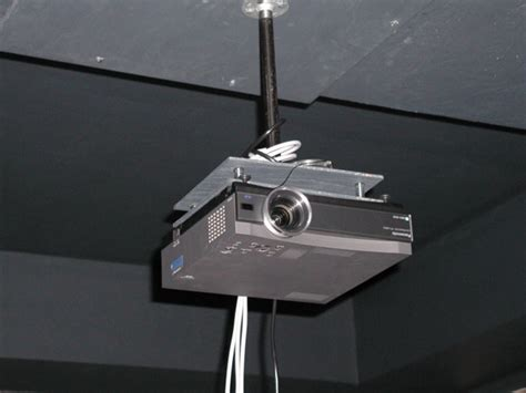 image gallery projector mount