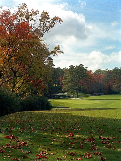 PHOTOS: What Augusta National has looked like in the fall ...