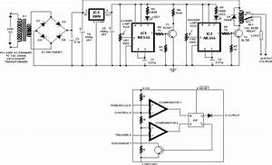 Over  Under Voltage Cut Out Circuit Diagram