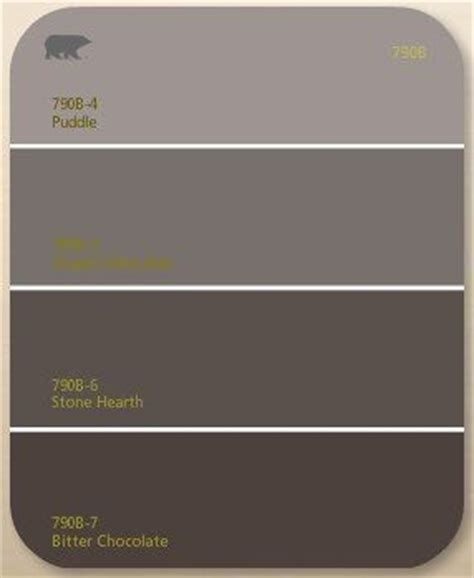 chocolate brown gray paint the brown paint color