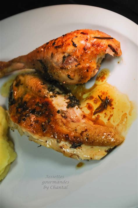 je cuisine ce que j ai dans mon frigo poulet roti beurre d 39 herbes sous la peau