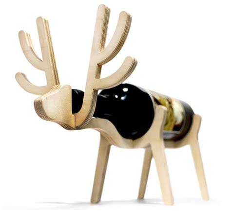 animal wine holder animal shaped wine bottle holders incredible things