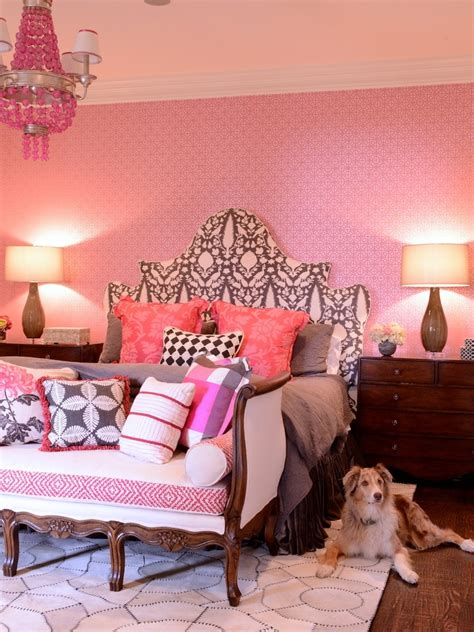 pink girly bedrooms get the look remake these top 10 designer bedrooms 12869 | eclectic bedroom