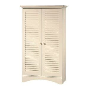 Armoire Wardrobe Storage Cabinet by Louver 2 Door Storage Cabinet Bed Bath Armoire Wardrobe In