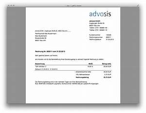 Italienisch Rechnung Bitte : advosis abrechnung ~ Themetempest.com Abrechnung