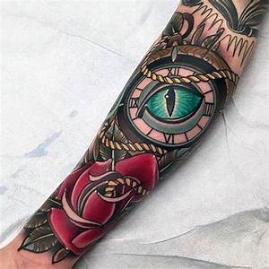 100 Neo Traditional Tattoo Designs For Men - Refined Ink Ideas
