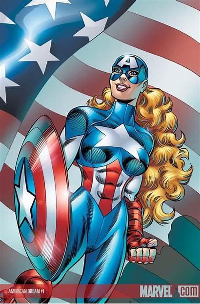 Dream American Superheroines Comic Secret Wiki Marvel
