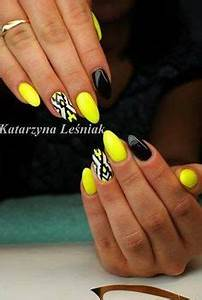 1000 ideas about Yellow Nails on Pinterest