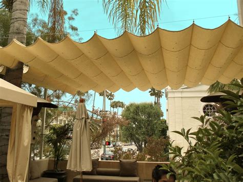 Shade Canopy by Slide Wire Canopy Awning Retractable Shade For Backyard