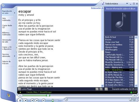 Lyrics Plugin Pour Windows Media Player (windows