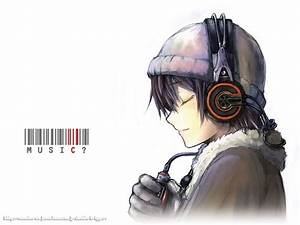 Anime, Headphones, Wallpapers, 28, Wallpapers, U2013, Adorable, Wallpapers