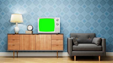 Vintage Livingroom by Retro Living Room Vintage Television Motion Background