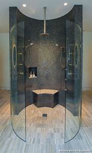 modele douche italienne with classique chic salle de bain With modele de salle de bains