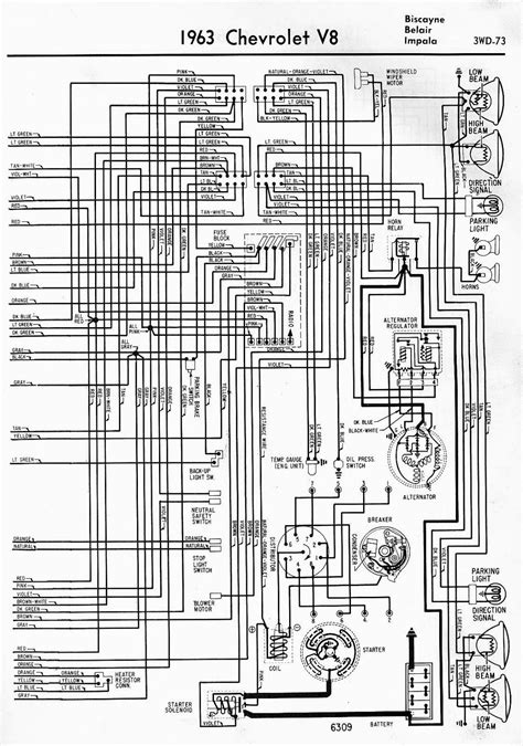 Wiring Diagram For Chevrolet Biscayne Belair