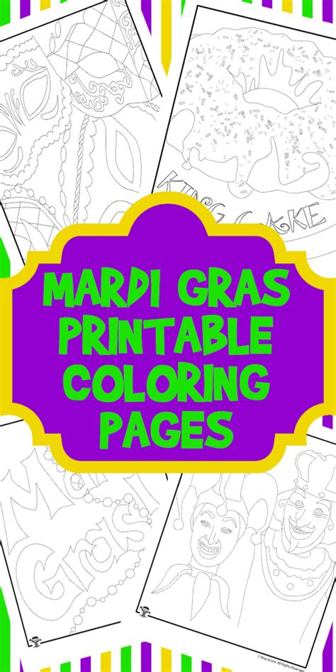 mardi gras printable coloring pages woo jr activities 669 | Mardi Gras Coloring Pin