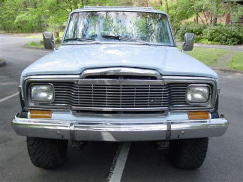 jeep cherokee chief blue 1979 jeep cherokee chief 4wd brand new amc 360 motor auto