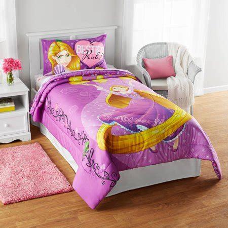 walmart bed comforters disney rapunzel quot friends light your way quot reversible