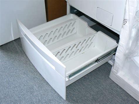 unterbau waschmaschine mit trockner unterschrank schublade f 252 r waschmaschine trockner r 252 cken schonen ebay