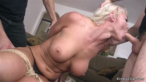 Blonde Cheating Wife Anal Gangbang Fucked Free Porn Sex