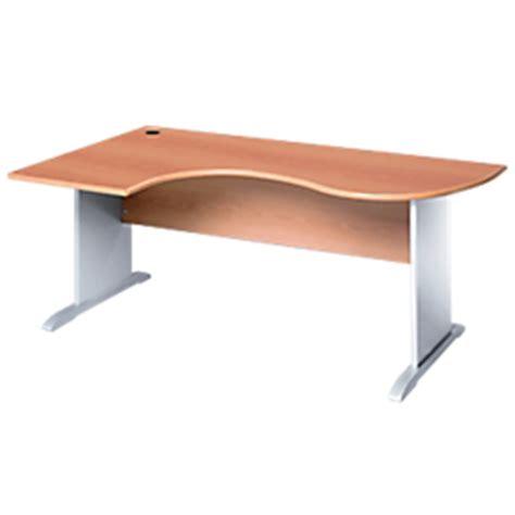 bureau arrondi bureau compact arrondi gamme murano pietement en l retour