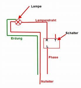 Schaltplan Einfache Ausschaltung : lampen verkabeln ~ Haus.voiturepedia.club Haus und Dekorationen