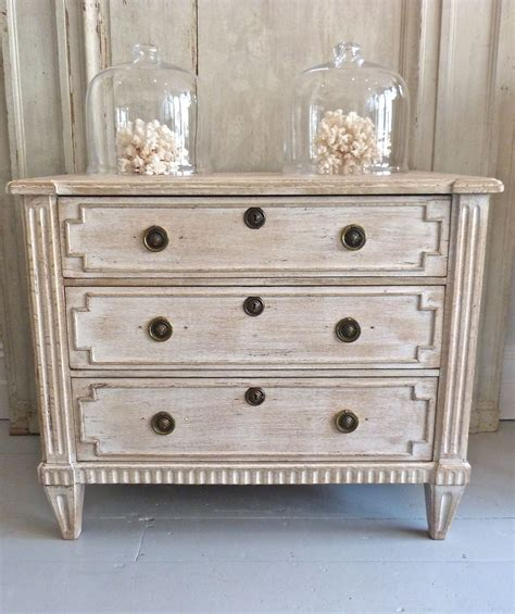 Antique Painted French Gustavian Furniture From Www