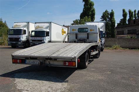 Louer Porte Voiture by Location D Un Camion Porte Voiture Renault Maxity Locabest
