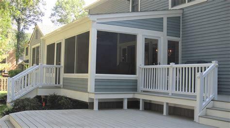 ideas  amazing screened porch  deck designs