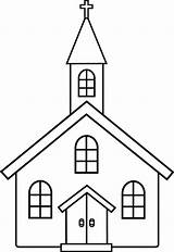 Church Coloring Pages Button Through Otherwise Grab Right Easy sketch template