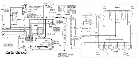 fairplay golf cart wiring diagram  cartaholics golf