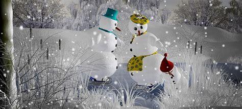 illustration snowman christmas snow frost
