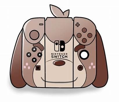 Nintendo Switch Kawaii Controller Clipart Digby Themed