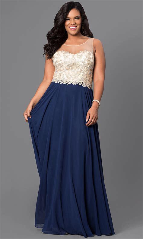 beaded bodice long  size prom dress promgirl