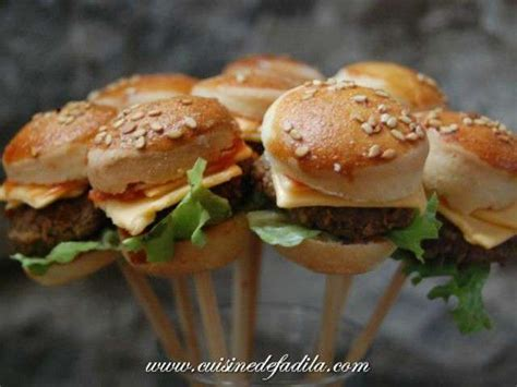 blogs recettes de cuisine les meilleures recettes de mini burger