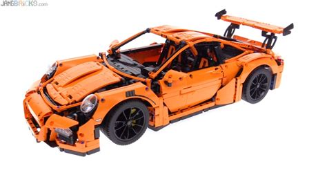 lego technic porsche 911 lego technic porsche 911 gt3 rs review 42056