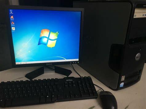 Keyboard For Windows 7 by Dell Desktop Pc Monitor Keyboard Mouse Wireless