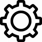 Icon Settings Gear Svg Gears Transparent Icons