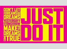 Just Do It Wallpaper, Creative Just Do It Wallpapers #WP