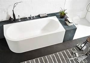 Badewanne Freistehend An Wand : ideen f r freistehende badewanne an der wand von ~ Lizthompson.info Haus und Dekorationen