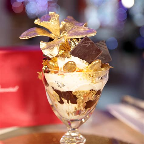 The Golden Opulence Sundae by The Extravagant Golden Opulence Sundae The Extravagant