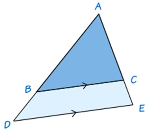 theorems about similar triangles